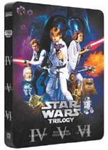Star wars trilogy widescreen limited edition 6 dvds rare best buy.