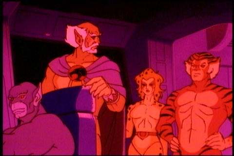 Thundercats on Dvd Review  Thundercats     Season 1  Vol  1   Chud Dev Site