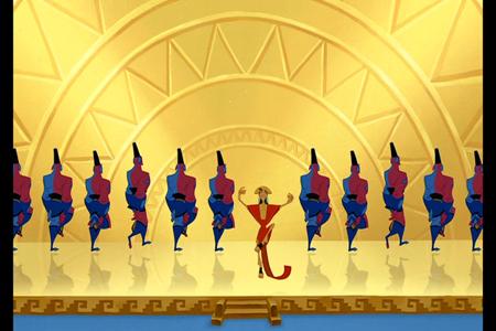 Emperor of the dance!