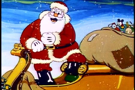 Santa don't take no shit