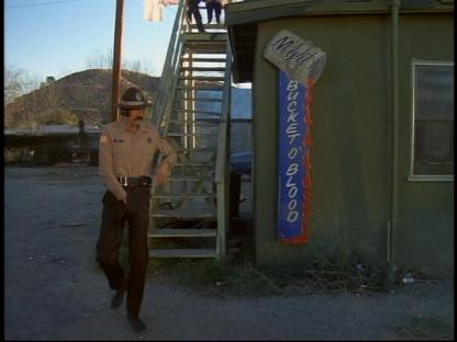 As he left the Bucket of Blood Deputy Allen already regretted trading Lohan sexual favors for her freedom.