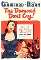Damned Don't Cry DVD