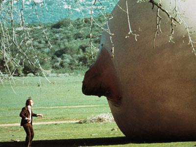 Woody Allen vs. the Giant Tit