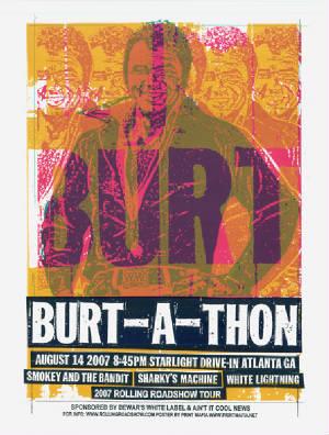 Burt-A-Thon Poster