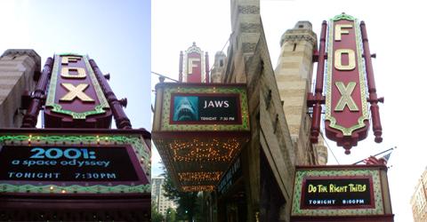 Movies at the Fox
