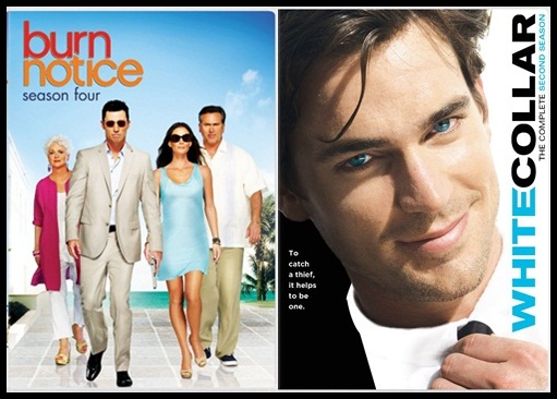 white collar neal caffrey hair. Burn Notice and White Collar