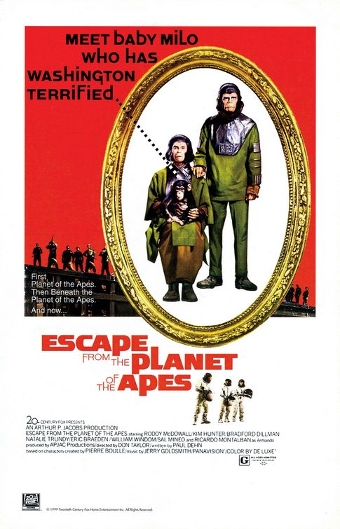 the Planet of the Apes...