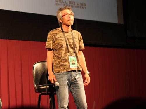 Shinji Imaoka at Fantastic Fest 2011