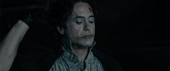 RDJ's Joker impression.