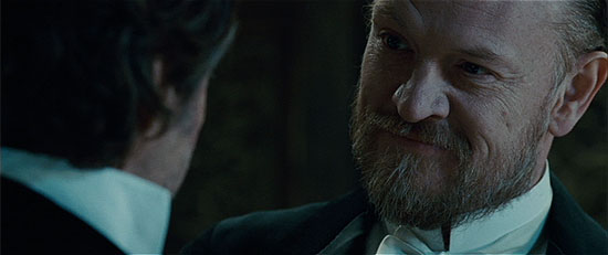 Jared Harris as Moriarty.