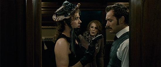 Sherlock Holmes in drag.