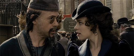 Sherlock Holmes pulls a Pink Panther.