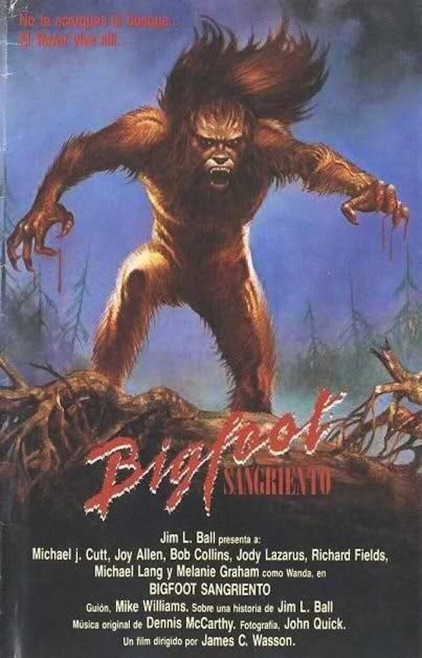Movie night of the demon bigfoot
