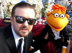 gervais-muppets