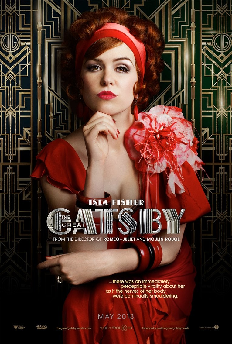 The GREAT GATSBY Character Posters Begin!