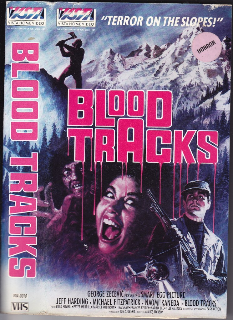 Blood Tracks Front