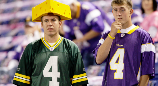 Fans of both teams were disappointed that Brett Favre did not un-retire and return to play in the playoffs