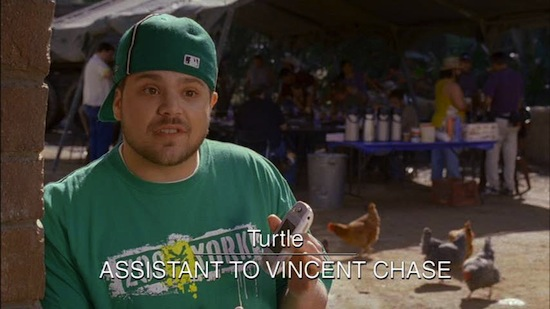 Turtle's single defining characteristic. The show is rife with rich characters.