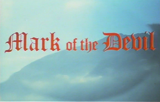 Mark of the Devil Title