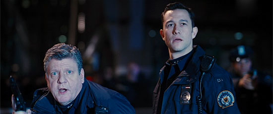 Officers Johnny Oldtimer and Earnest McJawline, reporting for duty.