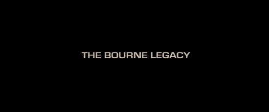 The Bourne Legacy Title