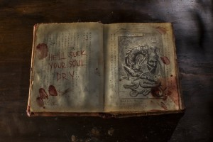 Evil Dead 2013. Book of the Dead 1.