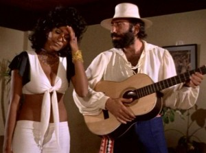 Pam Grier and Sid Haig