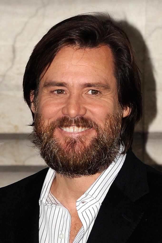Bearded Carrey weirds me out
