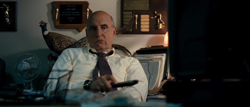 Jeffrey Tambor while watching Lucky.