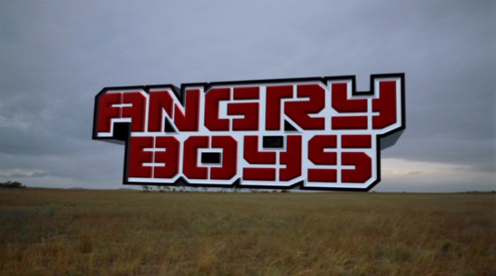 Angry Boys Title