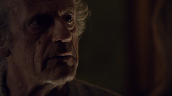 Christopher Lloyd seriously asks if he can make her a TV dinner three times in this scene. It's the best.