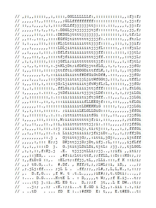 Tobias Funke: ASCII Analrapist