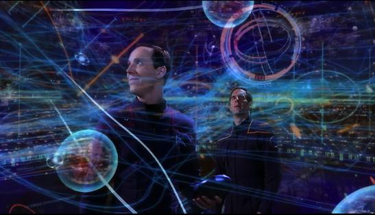 """Hey! You got your Prometheus in my Star Trek!"""