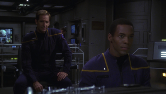 And by long time, I mean that Scott Bakula stares at the screen for about 90% of each episode.