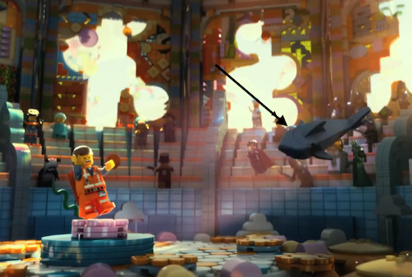 lego movie shark