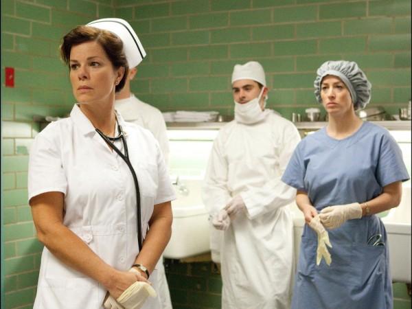 Marcia Gay Harden as Doris Nelson the head hospital nurse