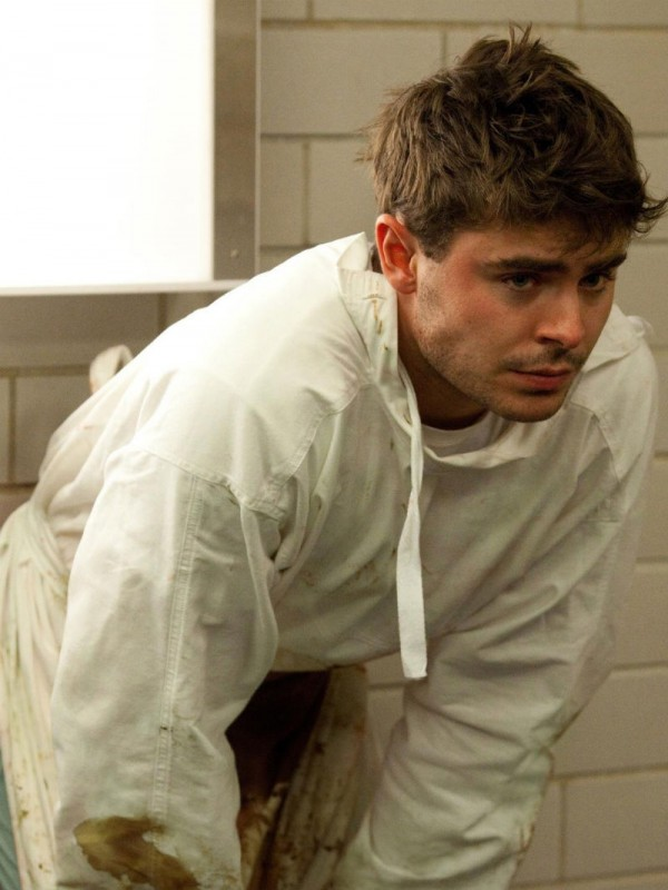 Zac Efron as Jim Carrico a rookie doctor