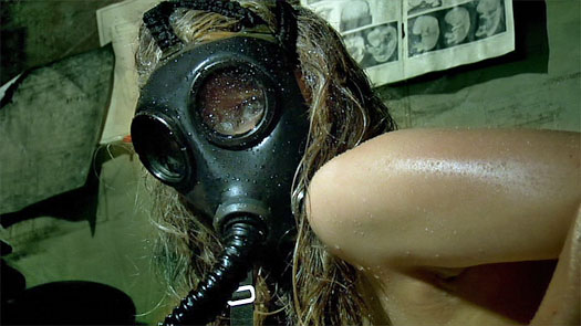 That glistening gas mask look gets me every time.