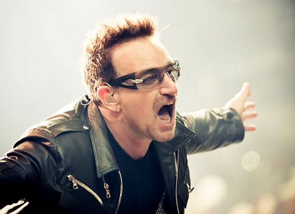 Every time Bono claps his hands a gamer's brain balls finally drop.
