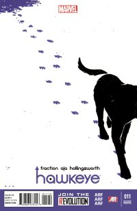 Hawkeye 011 (2013) (2nd Printing Variant) (Cover ONLY) (ScanDog+ArtNet)