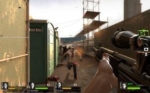 Left 4 Dead 2 rifle