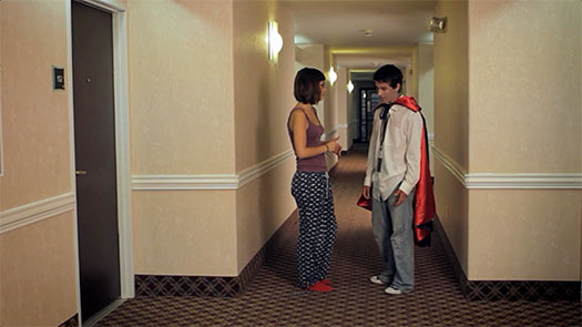 Don't show up to a girl's hotel room wearing a cape, unless you know FOR A FACT that she's into that kinda shit.