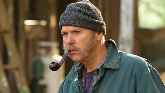 Michael Keaton as a New England Beetlejuice.