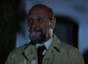 Halloween Dr. Loomis smiling