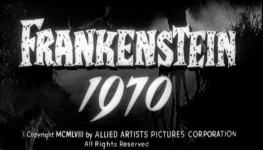 frankenstein 1970 title card