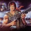Rambo art