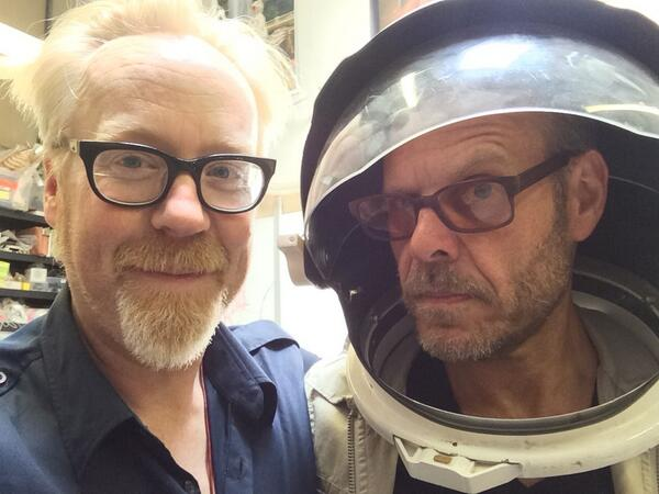 Adam Savage and Alton Brown