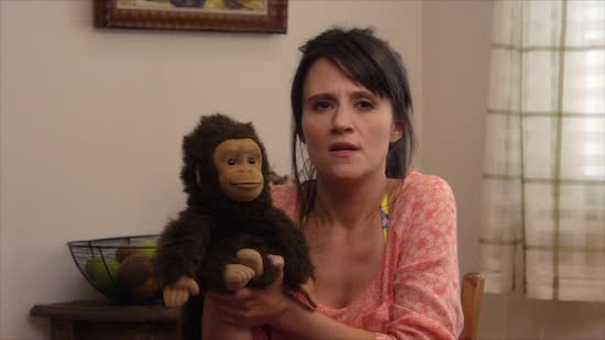 Plus, how could you hate a show that has a grown woman with a monkey on her hand as a main character?