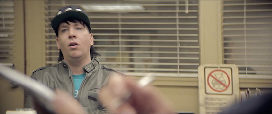 Marilyn Manson plays a teenager in it, for crying out loud.