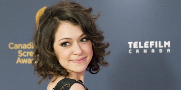 Actor Tatiana Maslany on the red carpet at the Canadian Screen Awards in Toronto.